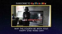 Happy Star Wars Day - Dancing Darth Vader