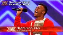 Marcus Collins' audition - The X Factor 2011 - itv.com/xfactor