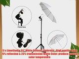 LimoStudio Photo Video Studio Flash light Umbrella Kit 1 x Reflector Umbrella 1 x Diffuser