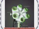 photo video studio fluoreescent cool light bank Linco Flora with softbox and Linco 85W Softwhite