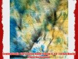 CowboyStudio 100% Cotton Hand Painted 6' X 9' Tie Dye Muslin Photo Background