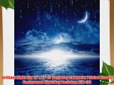 Brilliant Night Sky 10' x 10' CP Backdrop Computer Printed Scenic Background GladsBuy Backdrop