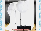 Photo Studio Kit Lighting kit 400 Watt Video Photography Portrait Lighting Kit Backdrop Support