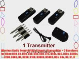 Wireless Radio Remote Flash Trigger 1 Transmitter   3 Receivers for Nikon D90 DX D90 D40 D60