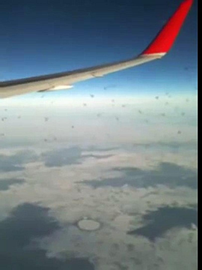B767 austrian over sibiria