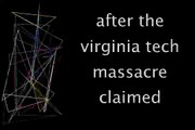 Topic: after the virginia tech massacre claimed