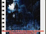 Spooky House 10' x 10' CP Backdrop Computer Printed Scenic Background GladsBuy Backdrop ZJZ-792