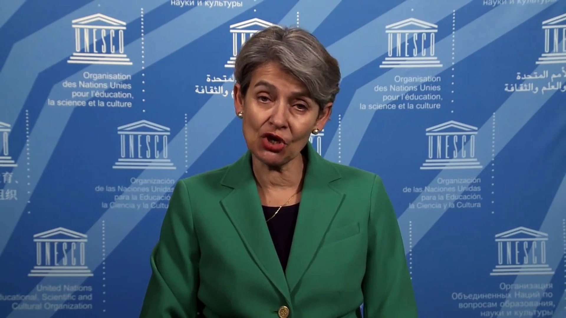 Irina Bokova message on the Decade for People of African Descent