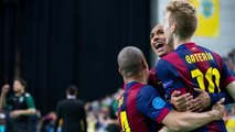 FCB Futbol sala - Sporting Clube - FC Barcelona (3-5)