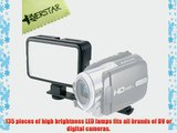 YONGNUO SYD-1509 135 LED CAMERA LIGHT FOR CANON NIKON SAMSUNG OLYMPUS JVC PENTAX. COME WITH