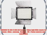 YONGNUO YN-300-II 300 LED Camera / Video Light With remote For Canon  Nikon  samsung  Olympus