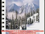 Snow Wonderland 8' x 8' CP Backdrop Computer Printed Scenic Background GladsBuy Backdrop ZJZ-316