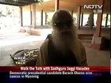 "Isha Foundation: ""Walk the Talk with Sadhguru Jaggi Vasudev"" -  NDTV"