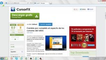 How to change cursor in windows 7 - video dailymotion