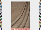 Savage Accent Series 10' x 24' Washed Reversible Muslin Background Color Light Brown Color:
