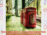 Street Telephone Booth 10' x 10' CP Backdrop Computer Printed Scenic Background GladsBuy Backdrop