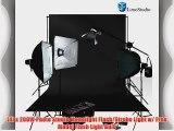 LimoStudio Photo Studio Four Monolight Strobe Flash BOOM Lighting Kit - (4) Studio Flash/Strobe