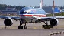 American Airlines Boeing 767-323ER Takeoff From Runway 22R at Helsinki Airport (HEL/EFHK)