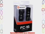 Neewer FC-16 Multi-Channel 2.4GHz 3-IN-1 Wireless Flash/Studio Flash Trigger with Remote Shutter