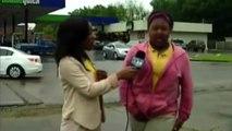 Elle se Fait Dessus alors qu'elle est Interviewée en Direct à la Télévision