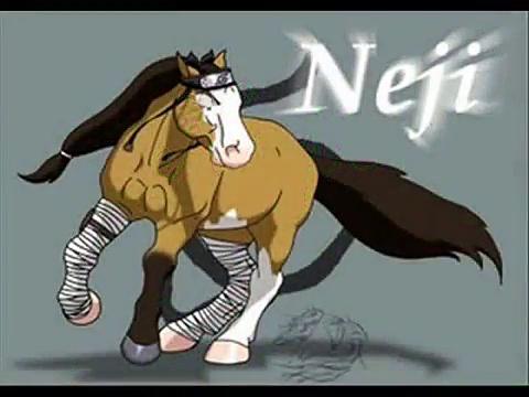 Naruto Horses