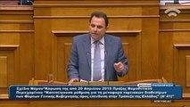 Ομιλία Γεωργαντά στη Βουλή για τα διαθέσιμα των Δημ. Οργανισμών