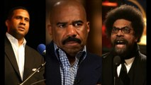 Steve Harvey Calls Tavis Smiley & Cornel West Uncle Toms For Criticizing Obama [New August 2011]