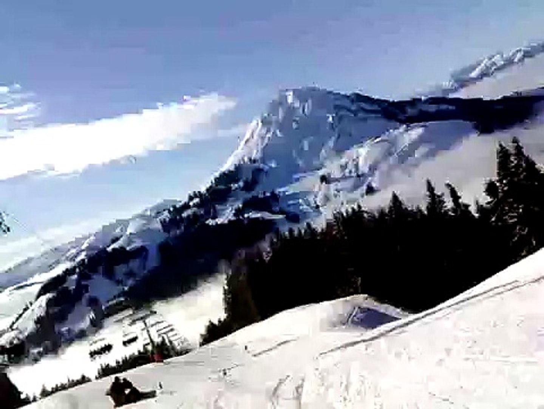 Skiing in Soll, Austria
