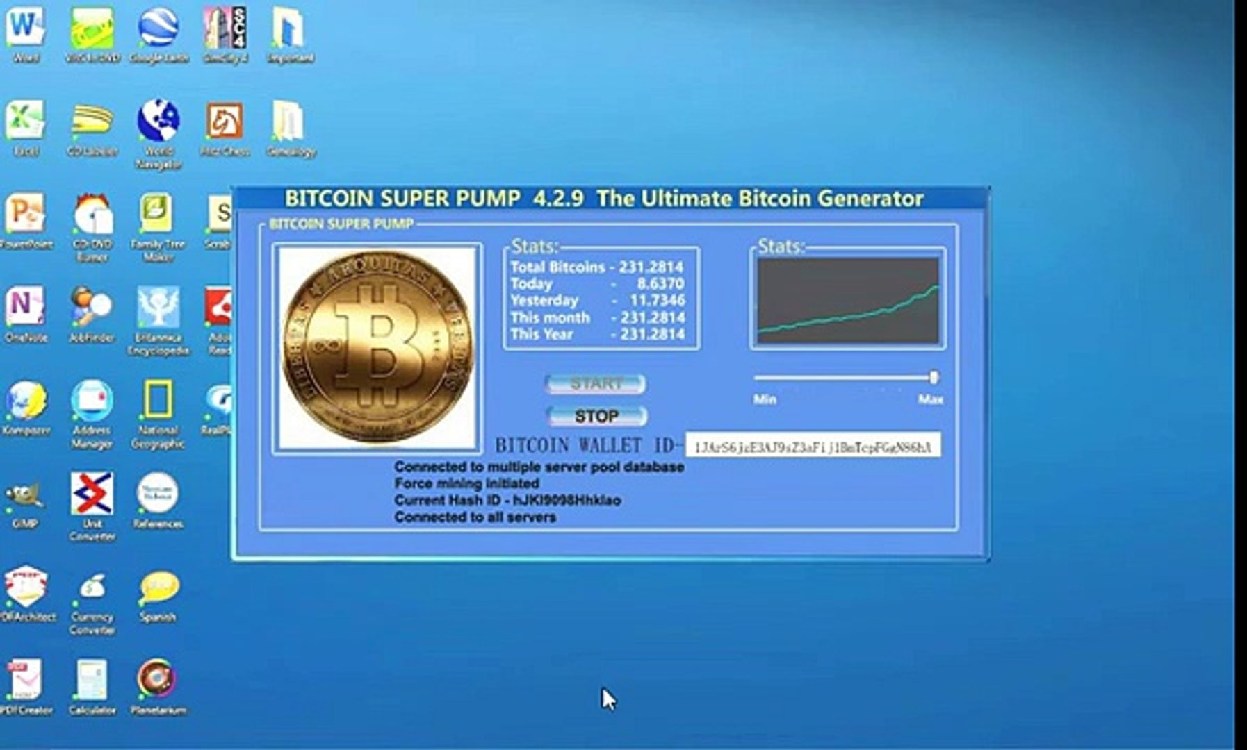 Bitcoin mining made easy- 10 btc per hour from home easily