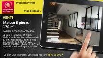A vendre - maison - LA BAULE ESCOUBLAC (44500) - 6 pièces - 170m²