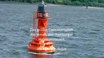 "größtes Containerschiff die ""Christophe Colomb"""