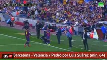 Barcelona: ¿Luis Enrique decidió sentar a Luis Suárez para calmar a Neymar?