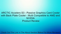 ARCTIC Accelero Xtreme IV High-End Graphics Card Cooler with