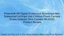 Potensic� 5M Digital Endoscope Borescope Mini Waterproof Hd 6-led Usb 2 Million Pixels Camera Snake Detector Wire Camera NKJ0032 Review
