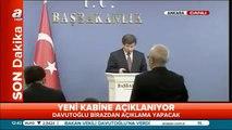 Başbakan Ahmet Davutoğlu Yeni Kabineyi Açıkladı 29 Ağustos 2014 Online Haber