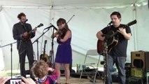 "Sara Watkins Band ft. Sean Watkins w/ ChrisThile (Nickel Creek) - ""The Fox"" - Newport Folk 2012"