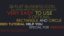 After Effects Project Files - Business Flat Icons - VideoHive 10124148
