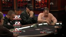 Phil Hellmuth getting bluffed and steaming
