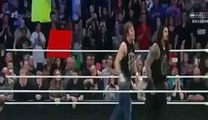 WWE Smackdown  Wining Moments Of Roman Reigns and Ambrose Against Seth Rollins and Luke Harper