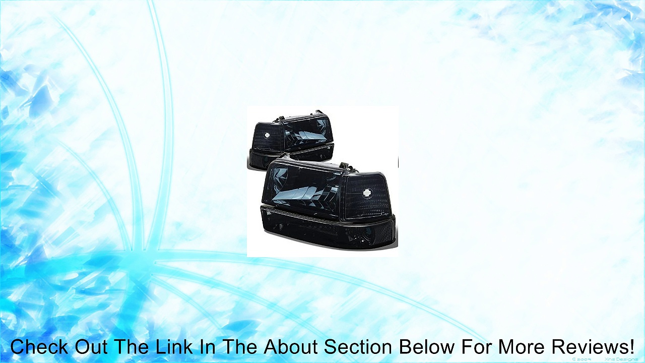 Ford F-150 Bronco Replacement Headlight Lamp Assembly (Smoke Lens) – 5 Gen Review