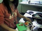 VLog 1: Cooking in my dorm! (fried rice)