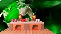 Cell Analogy: A Factory (Lego StopMotion Animation)