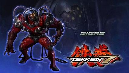 Gigas fait le show  de Tekken 7