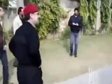 Defence Analyst of Pakistan Zaid Hamid Playing Cricket