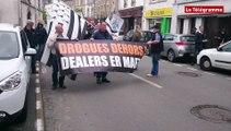 Vannes. Adsav : 50 manifestants contre la drogue