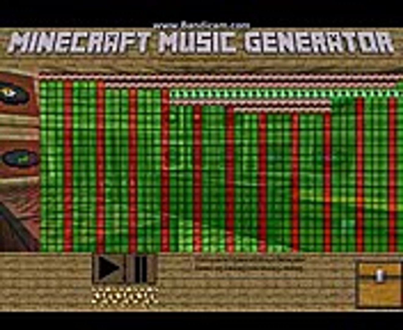 Minecraft Music Generator: Darude Sandstorm Demo Song (Coming soon)