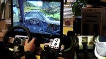 Euro Truck Simulator 2 |146 km/h |2500BHP mod |Logitech G27 |delivery |crash |feet/pedals cam