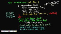 Programming Interview: Doubly Linked List Remove Node with given key