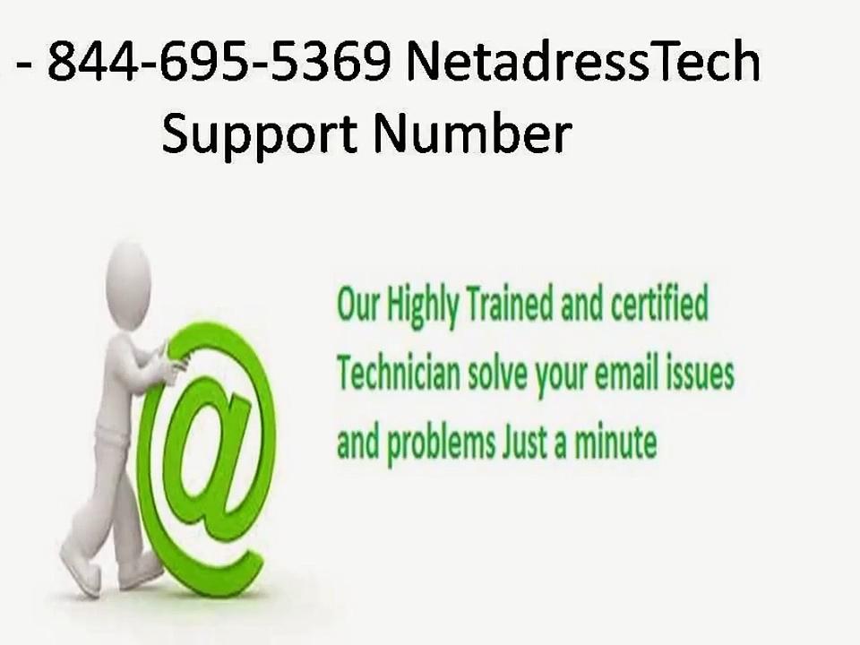 -1-844-695-5369- Netadress tech support services Number