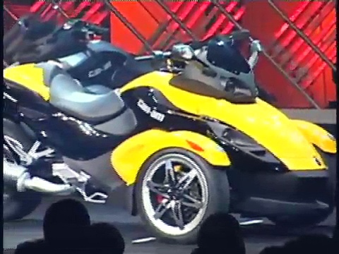 CAN-AM SPYDER Test Ride